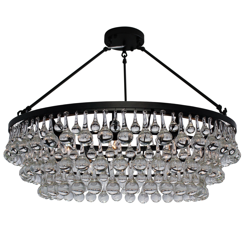 Wayfarer for dining room lightupmyhome celeste 10 light crystal chandeliers arubaitofo Gallery
