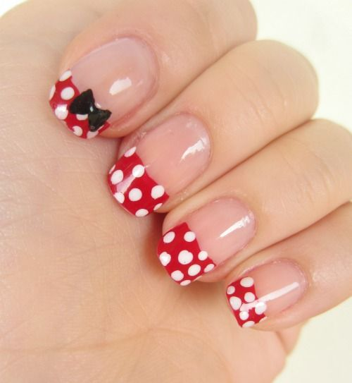 maquillage ongles | OPI Minnie Mouse Collection + Minnie Nail Art