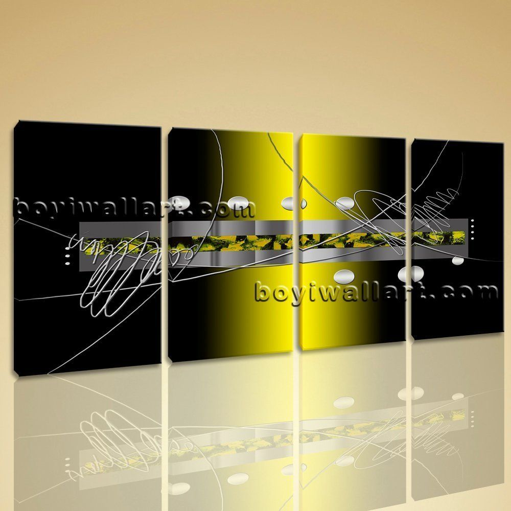 Large living room modern abstract home decor wall art print canvas