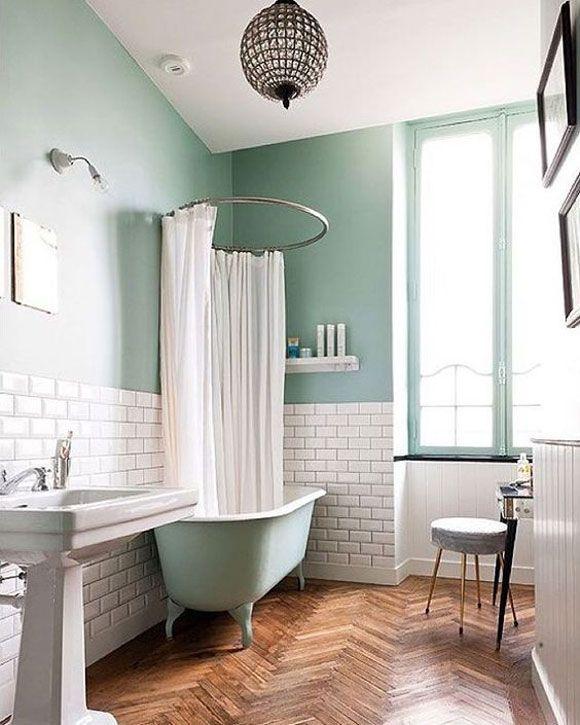Menta Bathroom Banheiro Verde Decoration Banos Cuarto De
