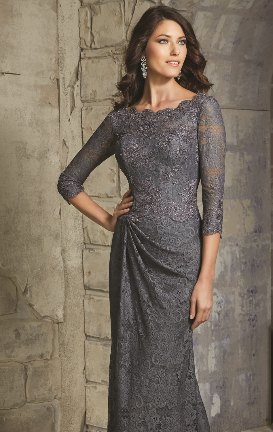 Look effortlessly beautiful in mgny by mori lee this evening