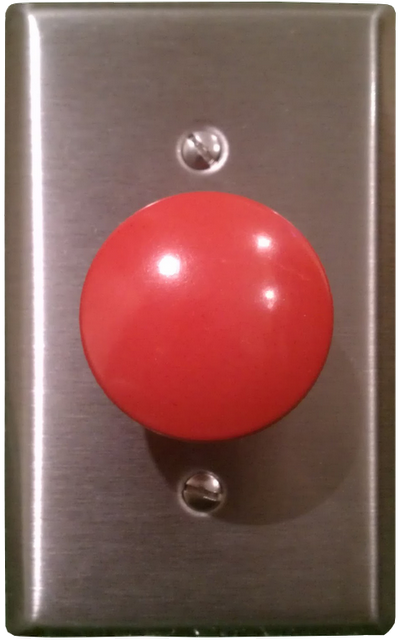 Can This Button Launch Missiles From A Nuclear Submarine Maybe Can It Eject You From The Cockpit Of An F 22 Fighter Jet Eve Light Switch Greatful Kids Room