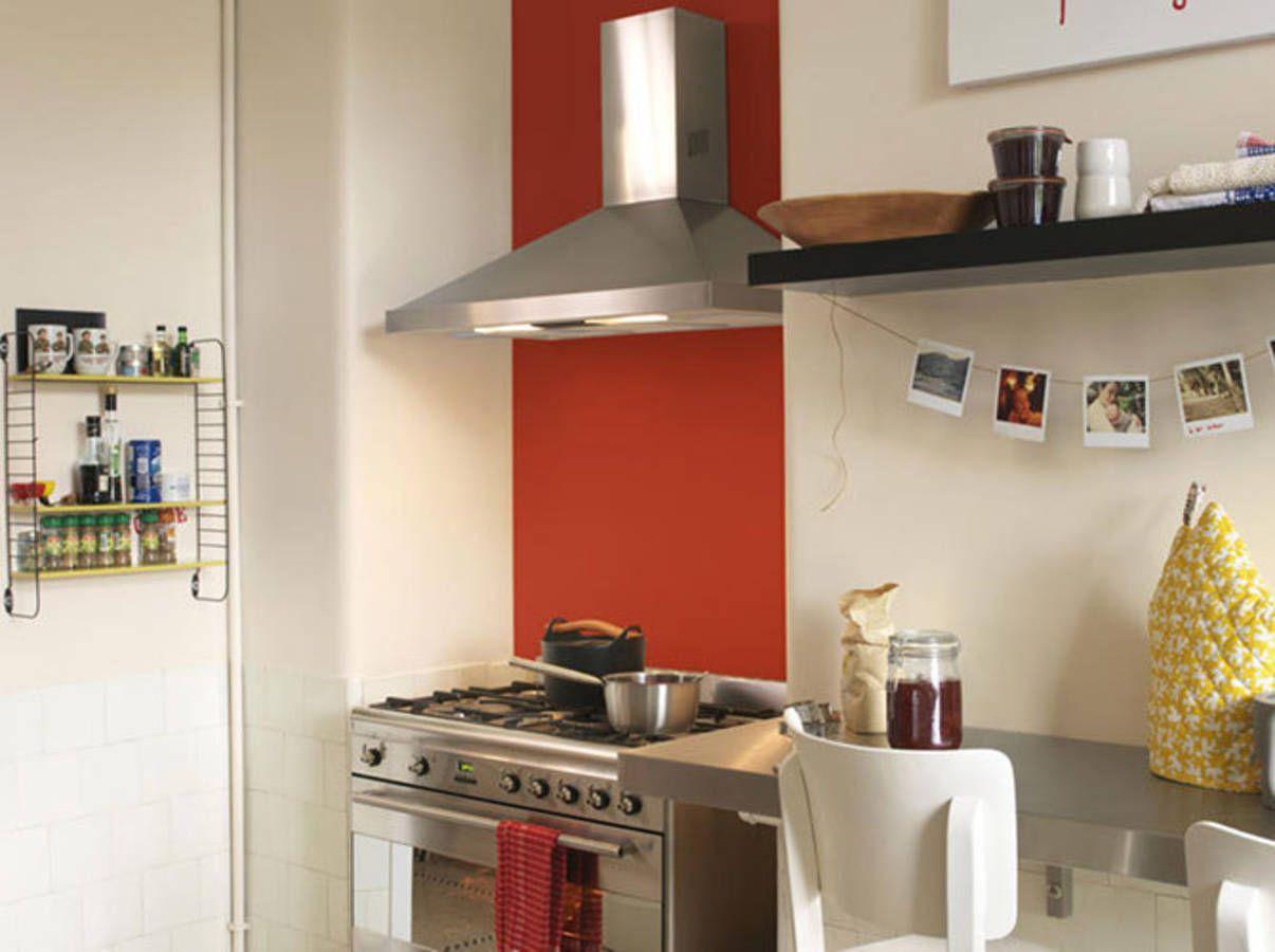 Mettez de la couleur en cuisine - Elle Décoration  Couleur murs