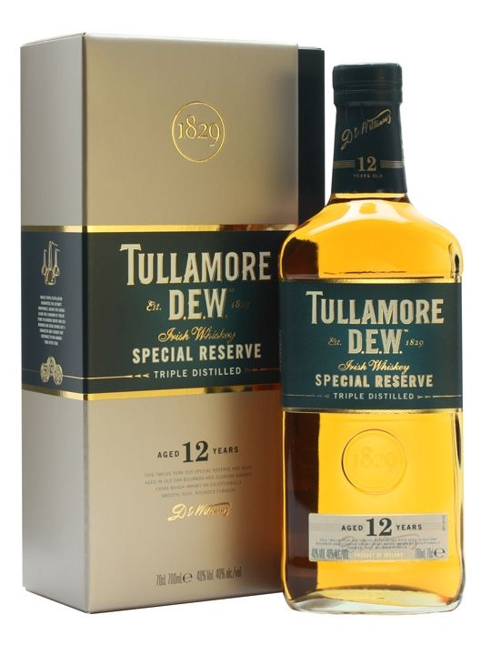 Tullamore Dew 12 Year Old Special Reserve Irish Whiskey Whiskey Brands Irish Whiskey Brands