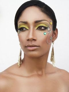 carnival makeup en mode by shevon trinidad carnival diary oh