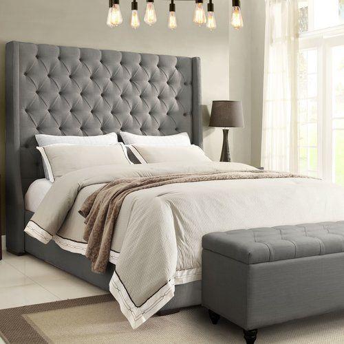 Park Avenue Upholstered Platform Bed Upholstered Platform Bed Bedding Master Bedroom Remodel Bedroom