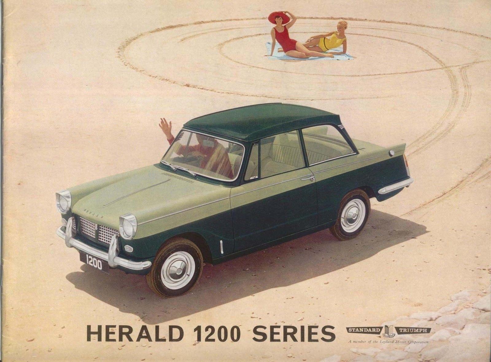 Details About Triumph Herald 1200 Series Original Uk Sales Brochure Pub No 342 9 63 Triumph Cars Classic Cars Triumph