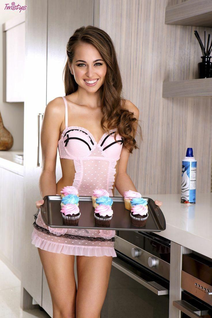 Maya sexy maid | Hot photos)