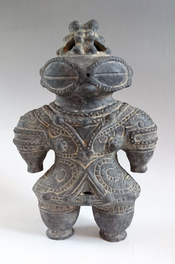 New! DOGU Statue HANIWA Earthen Ware 270mm Jomon Clay Figure JAPAN Free  Shipping | eBay | Clay figures, Statue, Clay