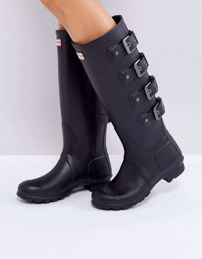 Botas altas en negro Mercury Original de Hunter