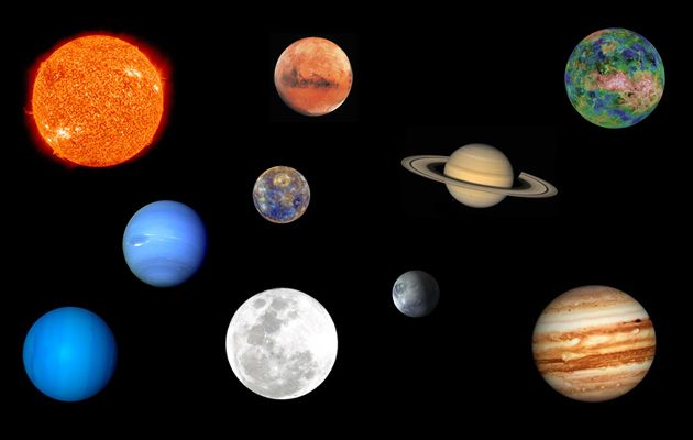 all the planets in the middle earth with the names - photo #27