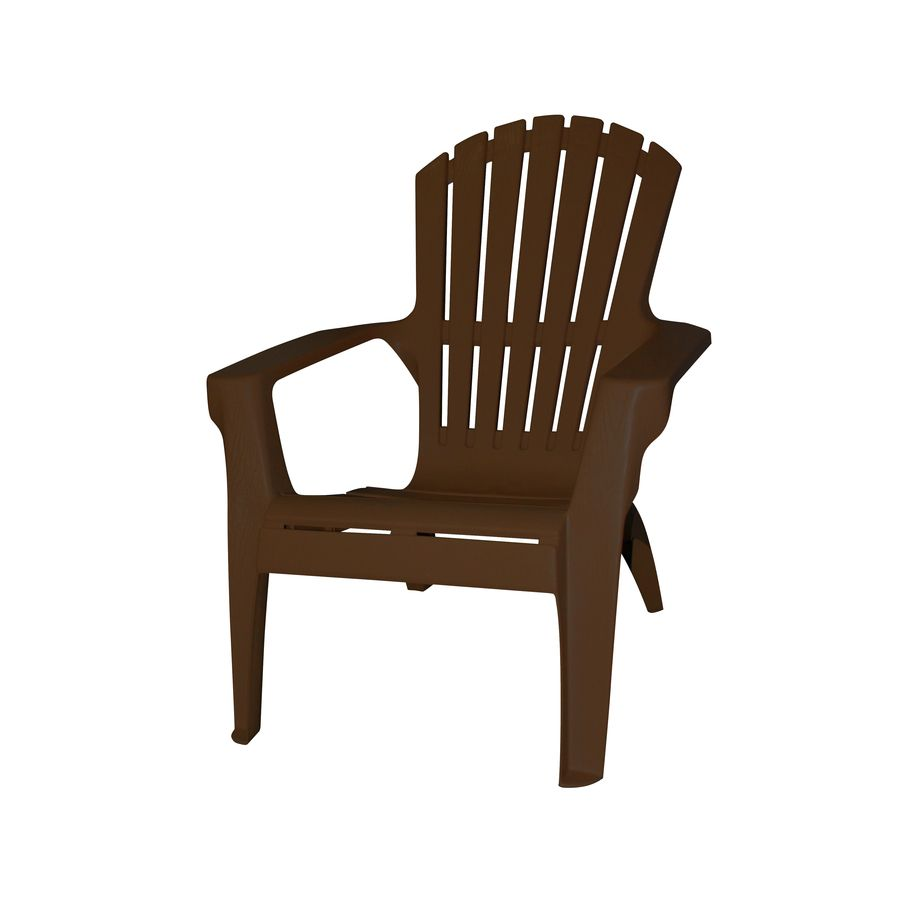 patio chairs at lowes portable lounge chair cushion plastic adirondack nice touch for your room living earth