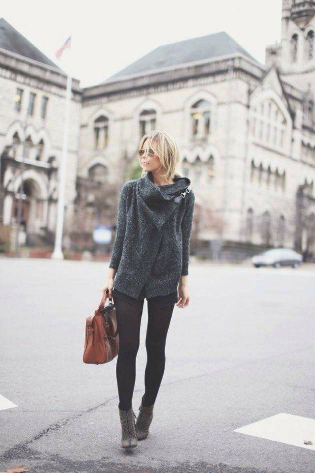 shorts hiver portés avec des bottines