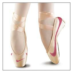 Nike pointe shoes, Ballet pointe shoes