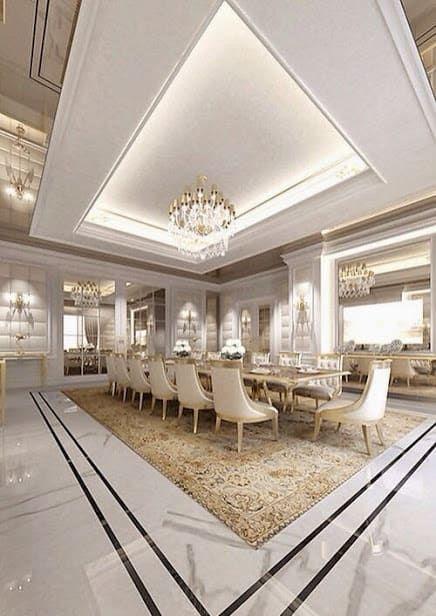 Sala da pranzo in stile classico di ev tadilatları ...