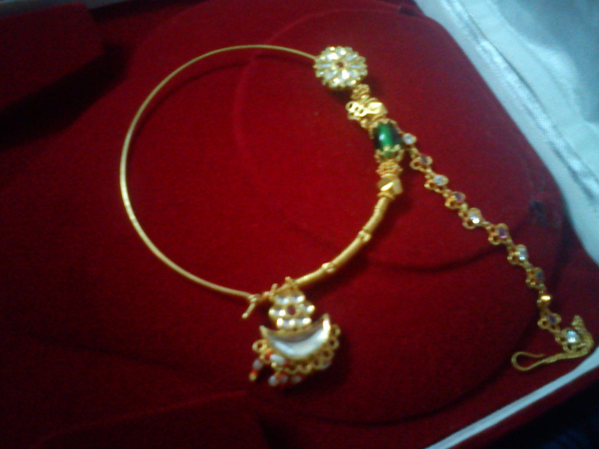 Beauty Actual Kumaoni Nath Antique Jewelry Indian Bridal
