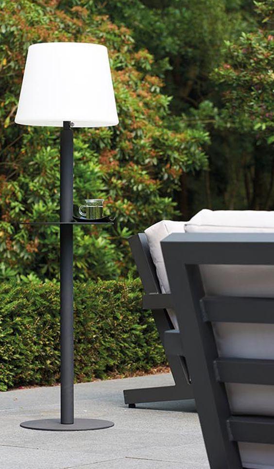 Handige tuinlamp met LED verlichting #tuinlamp #tuinidee ...