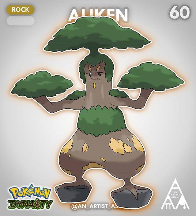 Pokemon Fanart Fakemon Artist Tren Instagram Sudowoodo Has Evolved The Name Might Sound A Little Weird But I Couldn T Resist The Pokemon Pokemon 20 Fan Art