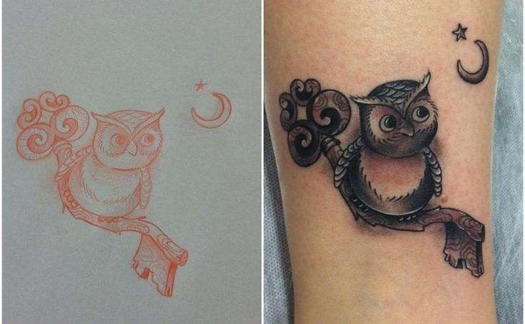 Owl Tattoos Owl Tattoo By Mauricio Huber Old Friends Tattoo