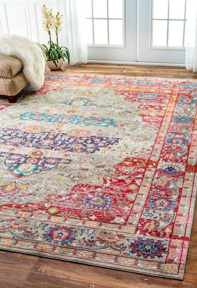Best of bohemian rugs where to find pinteres - Carpets for living room online india ...