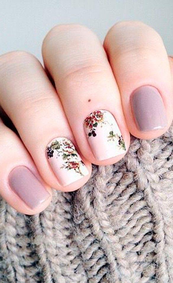 Diseños que te harán perderle el miedo al nail art | Pretty nail ...