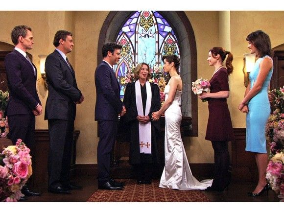 The Moment We Waited Almost A Decade For Ted Mosbys Wedding On How I