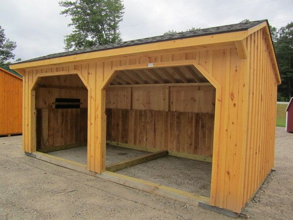 Size 10x20 Style Horse Barn Price 3 905 00 Location Lyman Barn Color Trim Color Roof Color Weatherwood 10x20 Run In Shed Shed Run In Shed Roof Colors