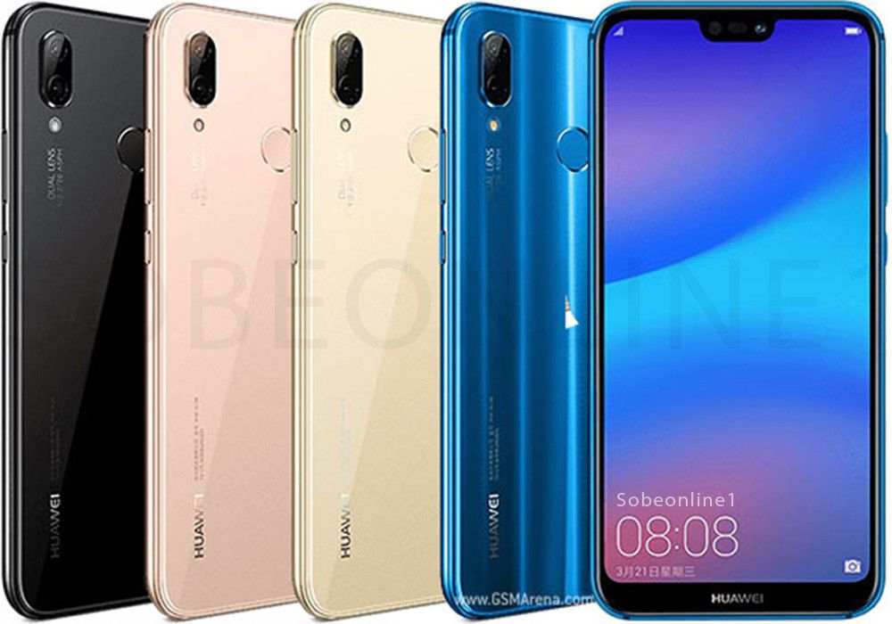New Huawei P20 Lite 32gb 4gb Dualsim Factory Unlocked 5 8 Black Blue Pink Cell Phones Accessories Pink Cell Phones Smartphone Photography Smartphone