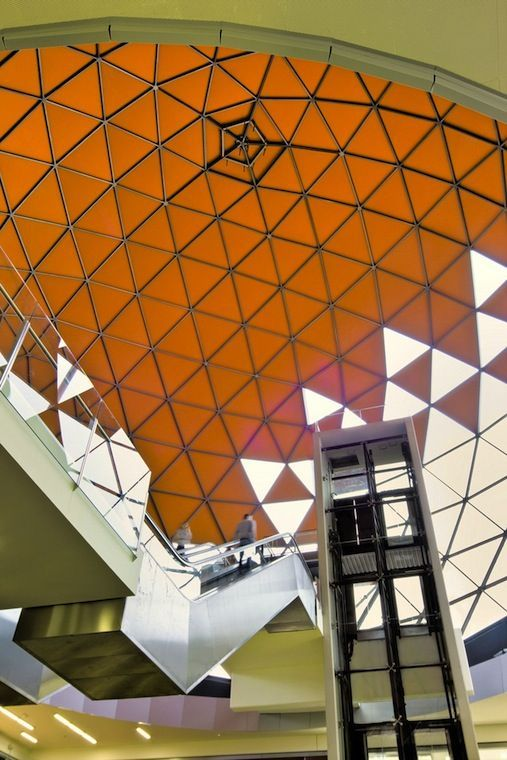 Bellapart Group Magic Badalona Mall Dome Structure