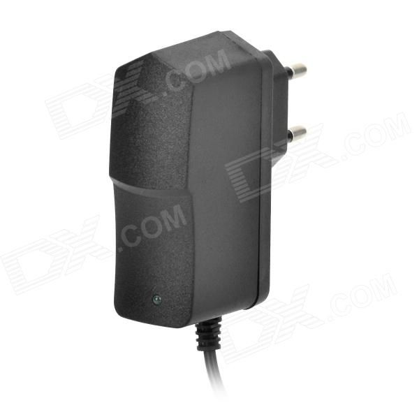 DOS-12-1 AC 100~240V to DC 12V 1A EU Plug Power Adapter - Black