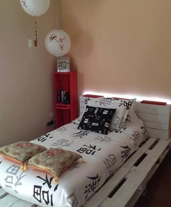 Attraktiv 21 Ideen Für Palettenbett Im Schlafzimmer | Bett Aus Paletten, Palettenbett  Und Bett