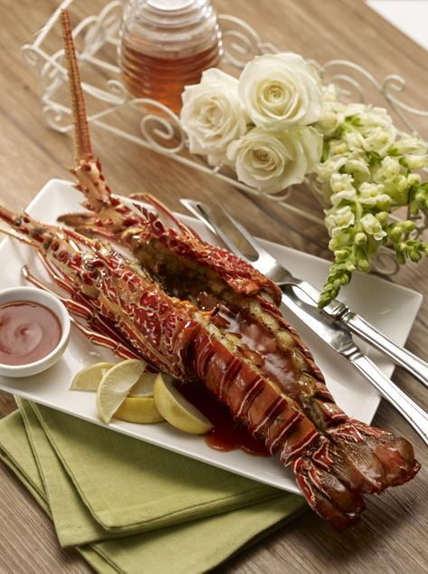Lobster Bakar Madu Madu