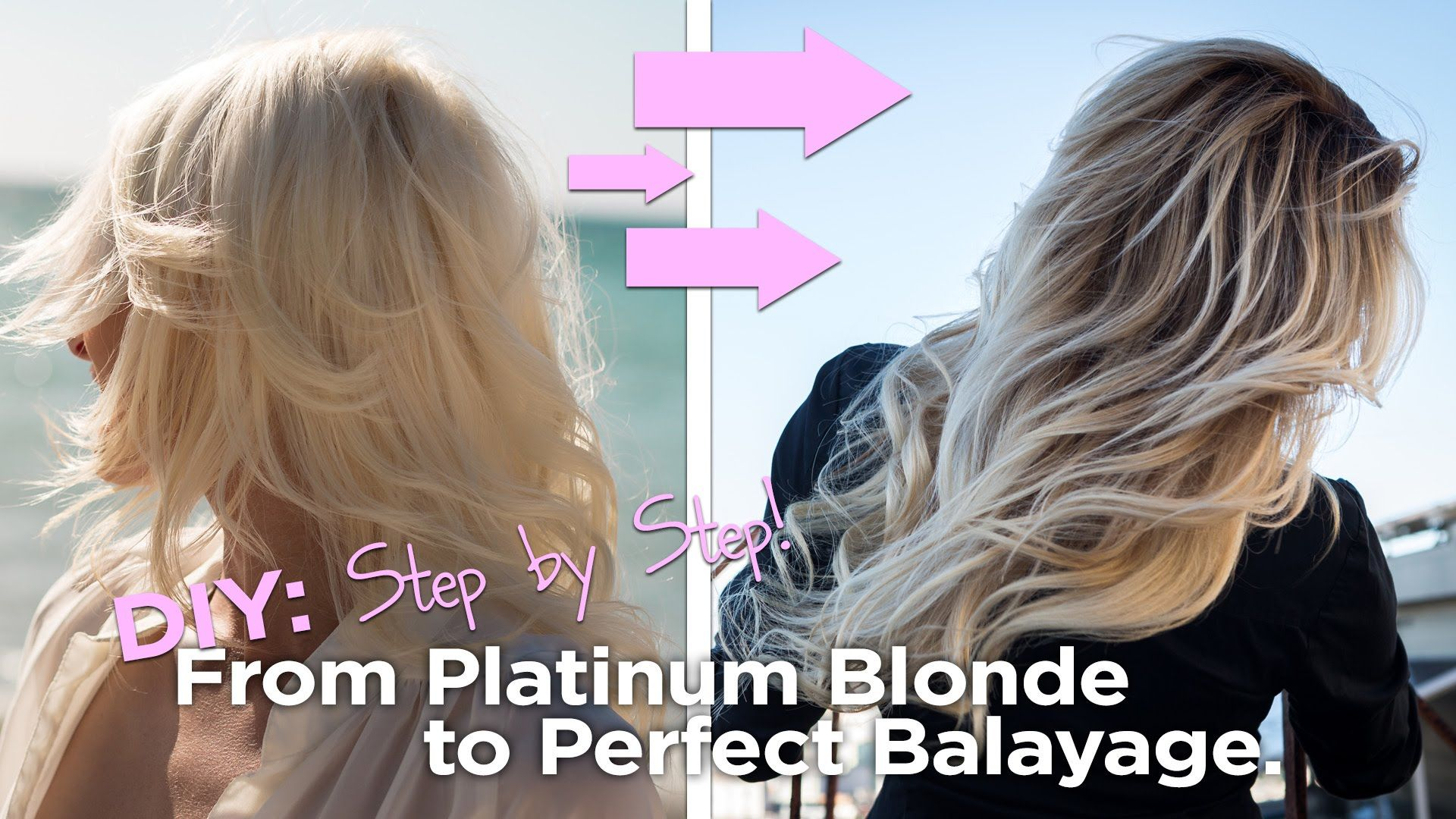 Diy from blonde to the perfect balayage easy to follow at home