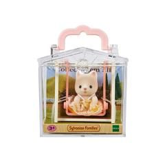 Sylvanian Families Baby Kat Med Gynge Calico Critters Pinterest
