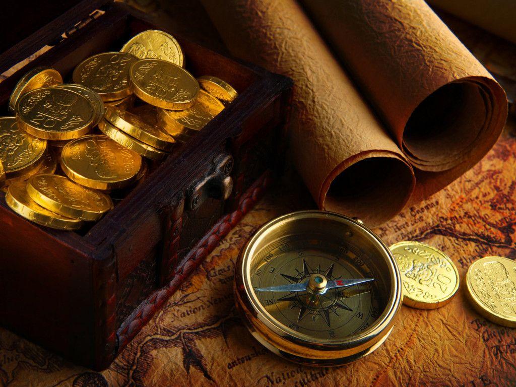 Gold Pirate Treasure Gold Treasure Chests Pinterest