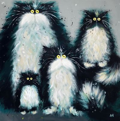 "Kim Haskins - ""Purrfect Family"""