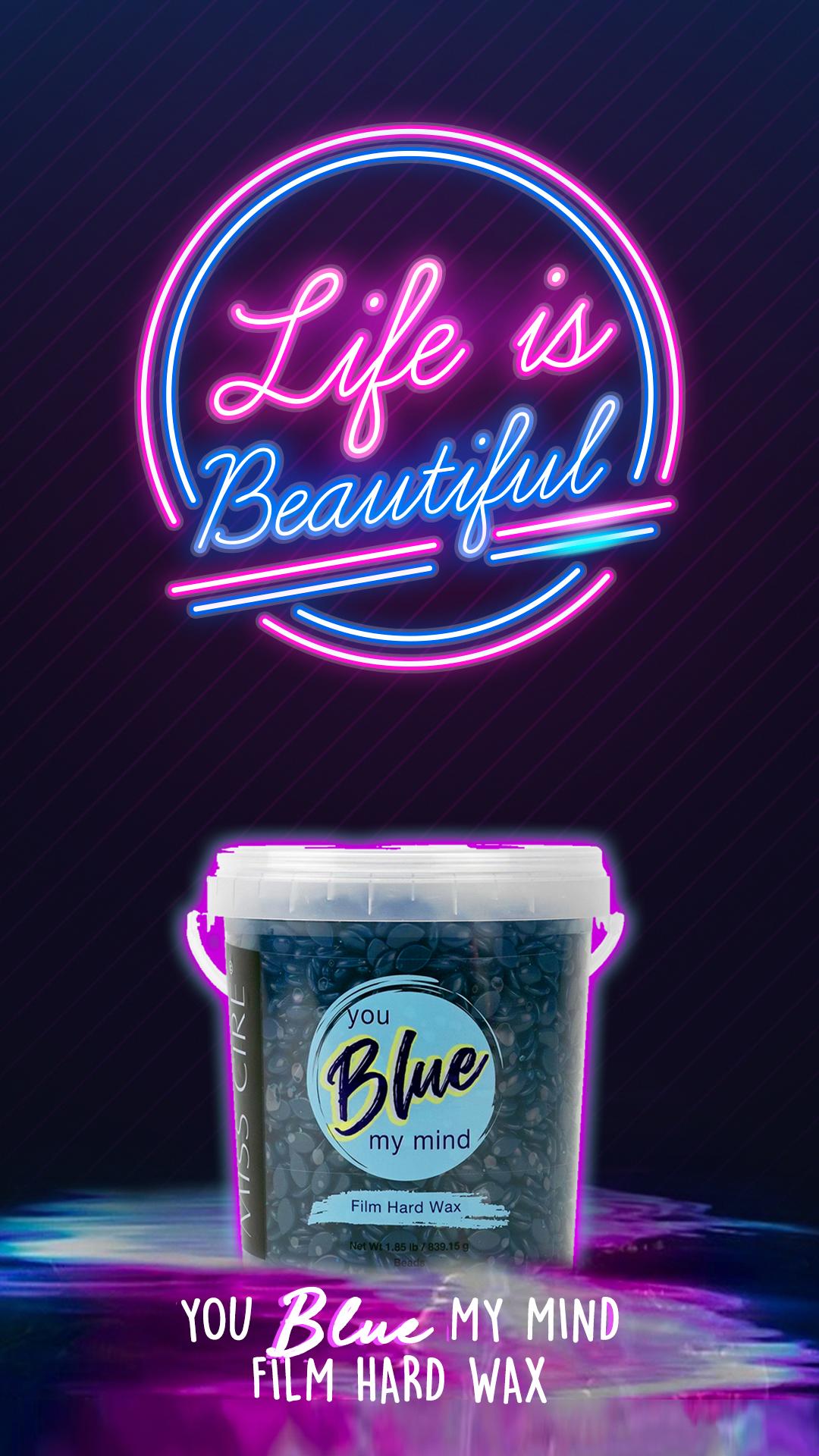 Blue Hard Wax Beads In 2020
