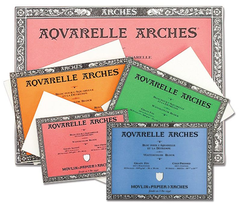 Arches Aquarelle Watercolor Paper Blocks Are An Indispensable