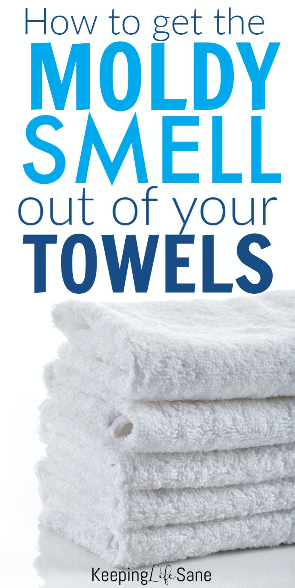How to get the smell out of moldy towels in 2020 | Towel ...