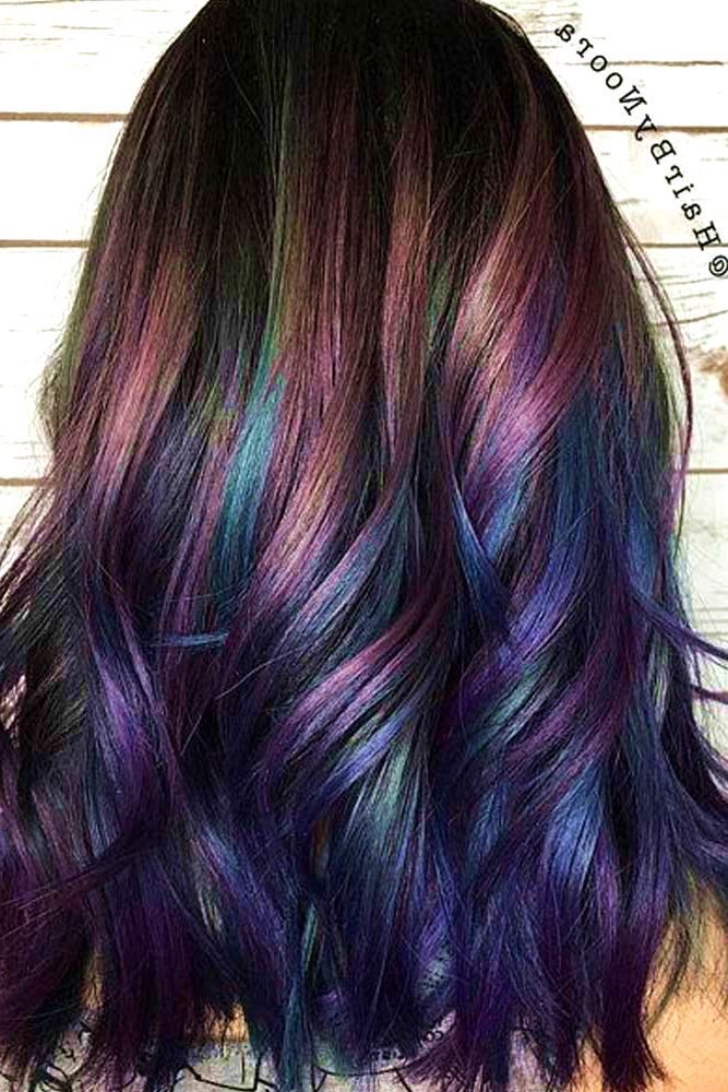 25 Subtle Hair Color Ideas For Brunettes Summer Hair Color For Brunettes Brunette Hair Color Rainbow Hair Color