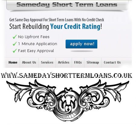 short term cash loans in can be get hold of with easy requirements - application forms