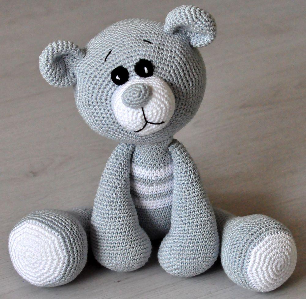 Häkelanleitung, DIY - Teddy Felix - Ebook, PDF | Graceful Crochet ...