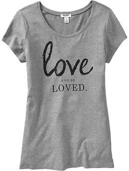 dd6634992 love this simple tee with jeans, blazer, flats Womens Rhinestone Graphic  Tees