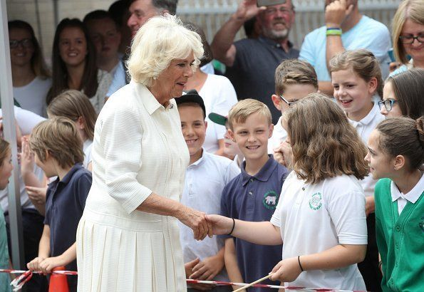The Prince of Wales and Duchess of Cornwall visited Wales #visitwales De Prins van Wales en Hertogin van Cornwall bezochten Wales #visitwales