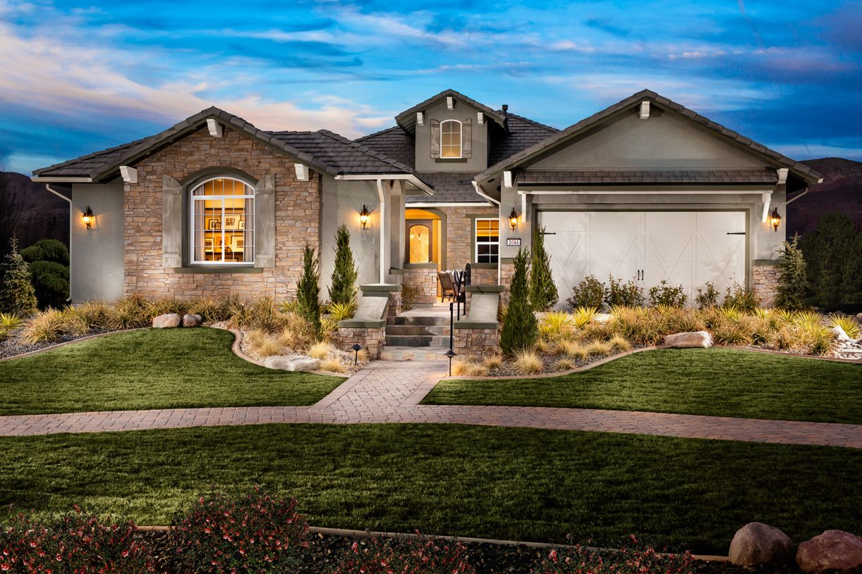 New Luxury Homes For Sale In Reno Nv Presidio At Damonte Ranch Nevada Homes Custom Built Homes Cheap Houses For Sale