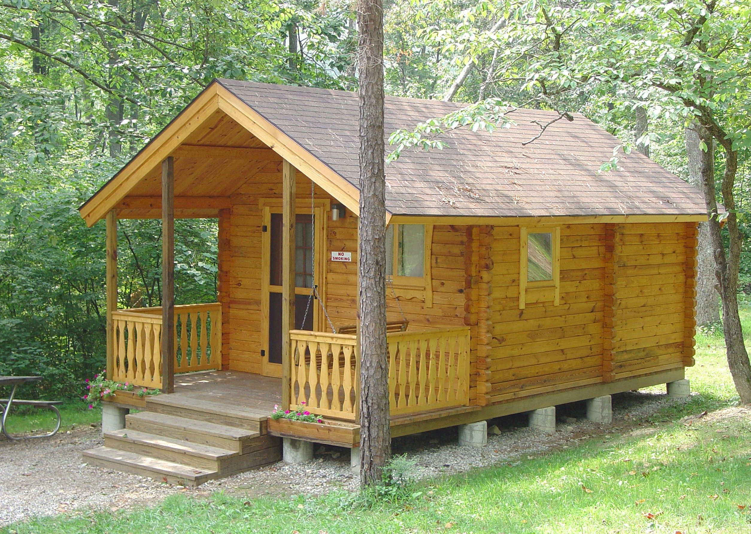 pond cabins img with grove on heart of the acres ohio private hills in hickory hocking fishing