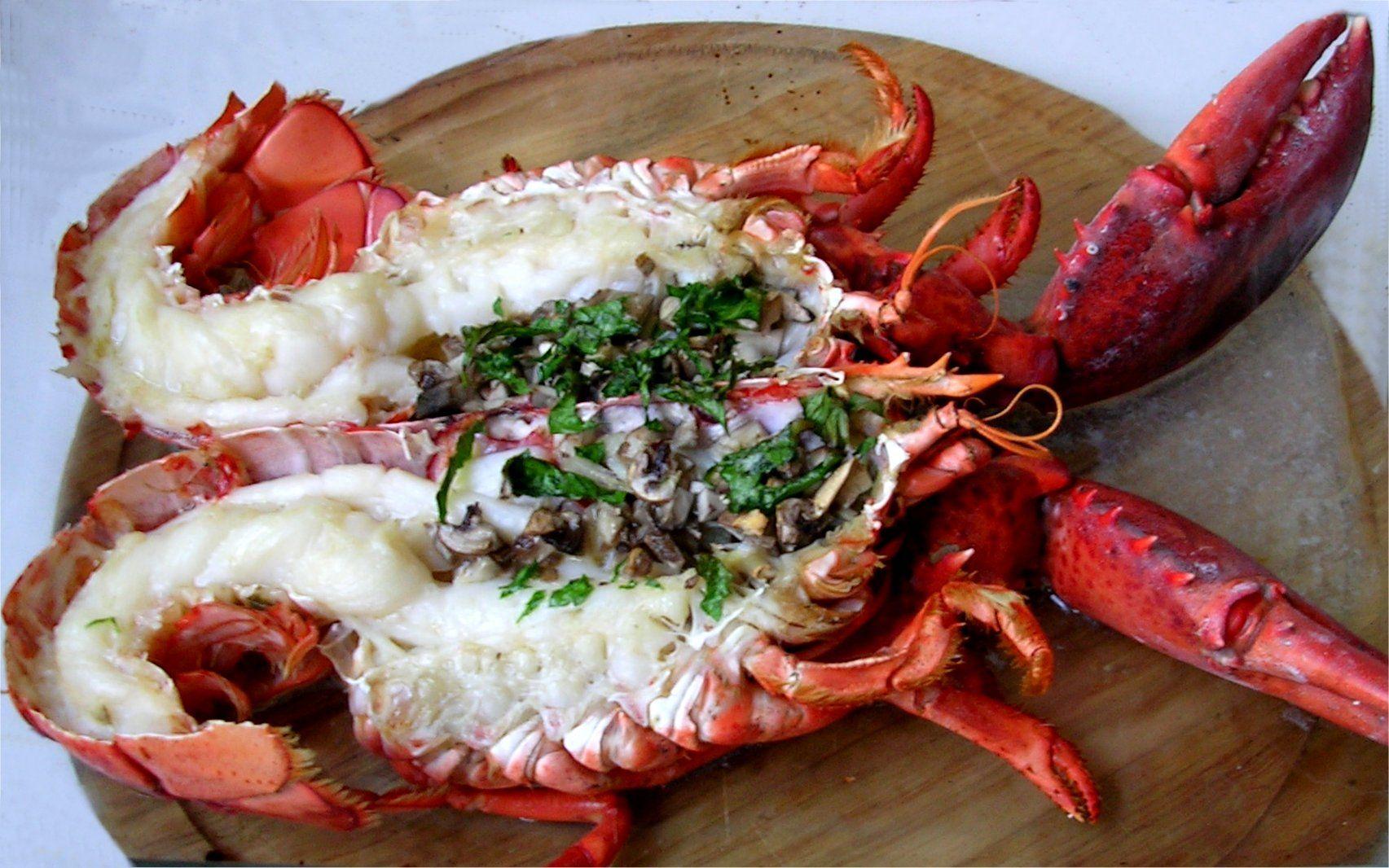 Une recette simple et d licieuse de homard grill - Recette homard grille ...
