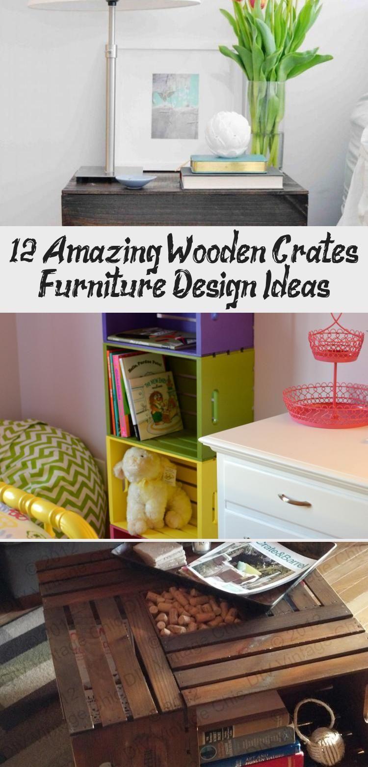 12 Erstaunliche Holzkisten Mobel Design Ideen Holzkisten Konnen
