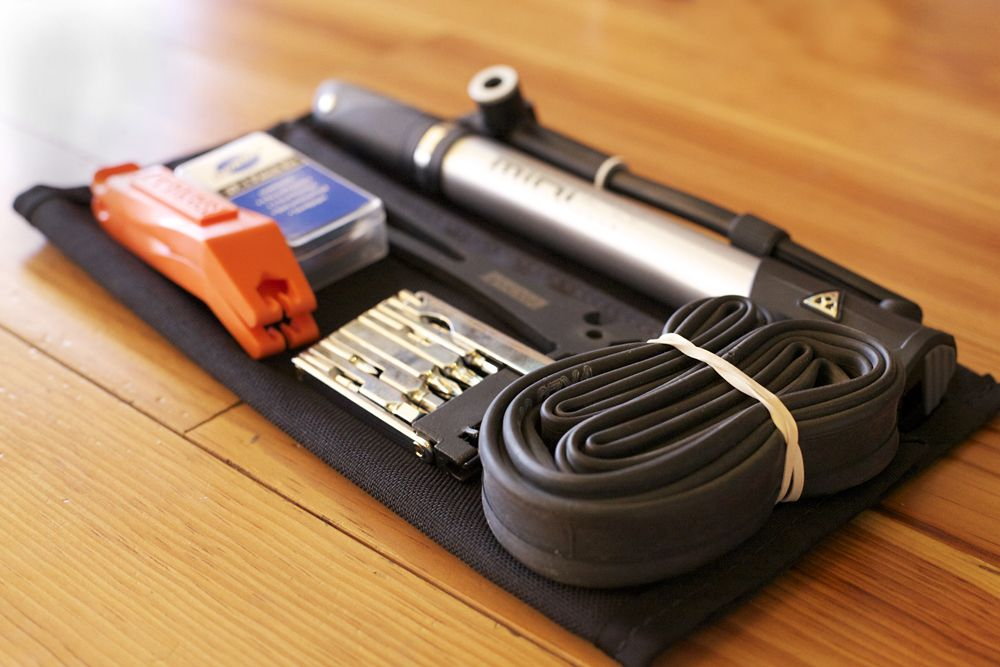Bag necessity: Emergency Tool Kit   Bike tool kit, Bike tools, Bike repair