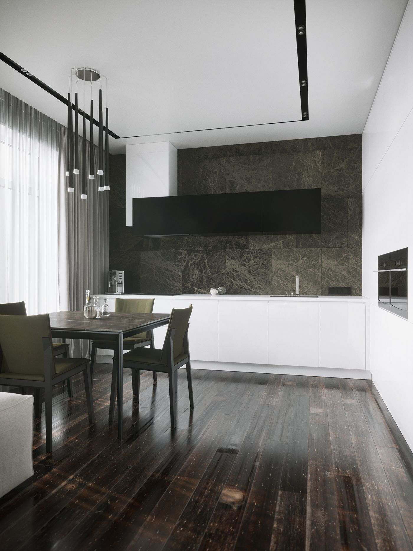 Apartment in St. Petersburg. Pavel Isaev Architects. VR on